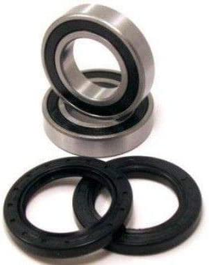 BossBearing Both Front Wheel Bearings and Seals Kit for Polaris Predator 50 2004 to 2007