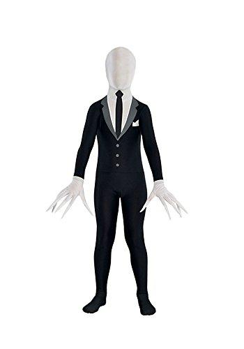 Slender Man Partysuit Costume - Teen (Slender Man Costume Child)