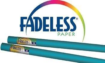 (Fadeless Paper 24X12Ft Azure Blue)