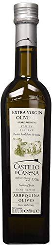 Castillo De Canena Extra Virgin Olive Oil (16.8 fl. oz.) Arbequina Cold-Pressed Purity   Rich, Bold Flavor Profile   Bread, Soup, Pasta, Salad Dressing, Vegetables   Spanish