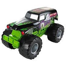Hot Wheels Monster Jam Truck Grave Digger Sound Smashers (Truck Sound Monster)