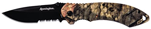 Remington Cutlery R20010 F.A.S.T. Series Assisted Opening Large Knife with Pocket Clip, Mossy Oak Blaze ()