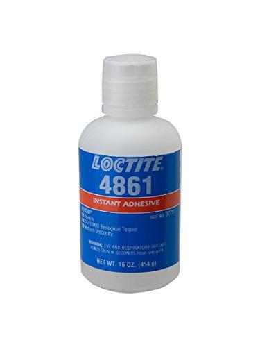 - Loctite 37711 4861 Clear Prism Instant Adhesive, Flexible, 1 lb. Bottle