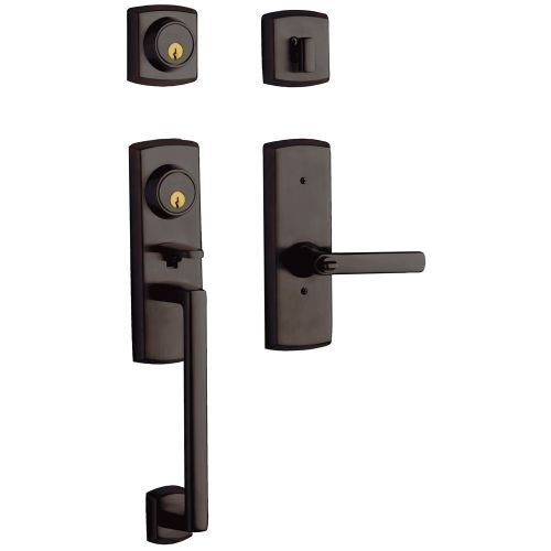 Baldwin 85385.2RFD Soho Full Dummy Two Point Sectional Handleset with the Right, Venetian Bronze