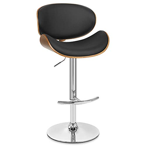 - Portable Air Conditioners DOOST Adjustable bar Stool, revolving bar Chair with Back, bar Kitchen Counter Height, Vintage Brown Black