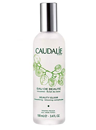 CaudalÍe Paris Beauty Elixir Eau de Beaute Spray. Refreshing and Lightweight Face T1r to Tighten Pores, Set Makeup, and Improve Oily Skin and Complexion, 3.4 Fl. Oz by CAUDALIE