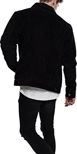 Corduroy Schwarz Sherpa Giacca Uomo Classics Urban Jacket 825 black wx1HEvYq