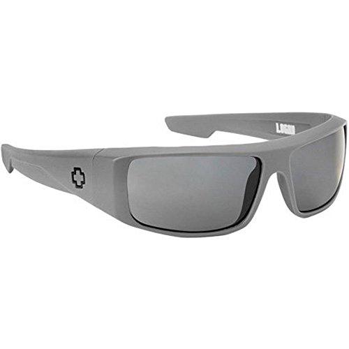 Spy Logan Sunglasses - Spy Optic Steady Series Fashion Eyewear - Primer Grey/Grey / One Size Fits - Spy Sunglasses Logan Optic