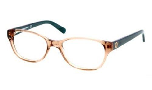 Tory Burch TY2031 Eyeglass Frames 1164-49 - Khaki Teal Frame, Demo Lens