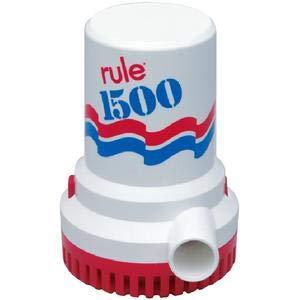 Rule 02 HIGH CAPACITY MANUAL BILGE PUMPS 1500 PUMP 12V