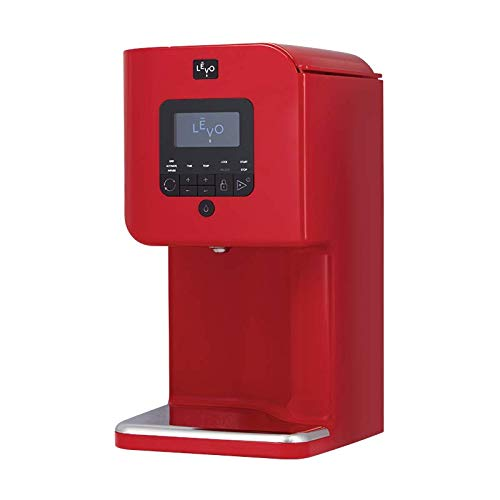 LEVO II - Herbal Oil and Butter Infusion Machine - Botanical Activator, Herb Dryer and Oil Infuser - Mess-Free and Easy to Use - WiFi-Enabled via Programmable App (Cayenne Red)