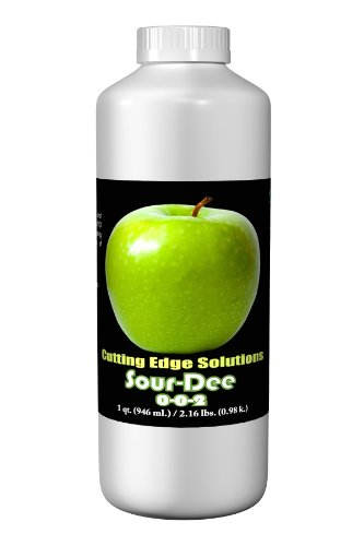 Cutting Edge Solutions Sour-Dee:3301 Sour-Dee Growing Additive, 1-Quart