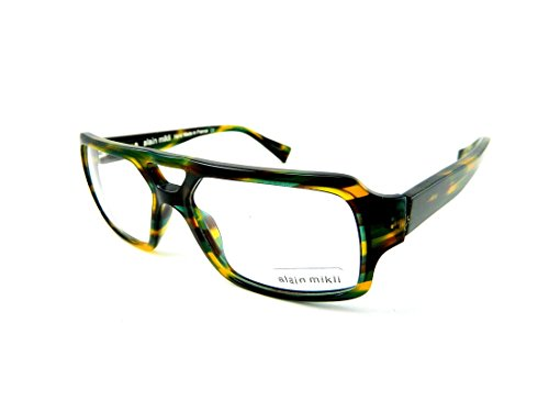 Alain Mikli Eyeglasses AL1127 1070 - Tortoise Yellow Blue Green