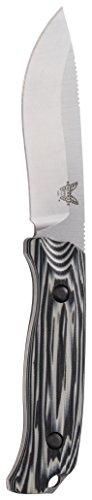 Benchmade – Saddle Mountain Skinner 15001-1 Knife, Drop-Point Blade, Plain Edge, Satin Finish, G10 Handle