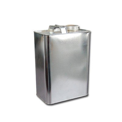 Air Sea Containers 1 Gallon F-Style Metal Oblong Can (1.75'' Opening)