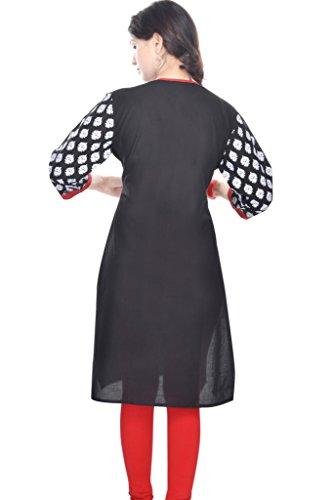 Vihaan Impex Vestiti Eleganti Camicia Tunica per Donna Abbigliamento Donna Kurti Kurta