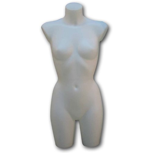Female 3/4 Torso, No Arms by Display and Fixture Store