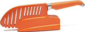 Furi Rachael Ray Gusto-Grip 8-Inch Sharp and Store Chef's Rocker Self-Sharpening Knife with Stand