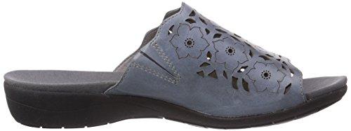 de Bleu Femme Chaussures 553 Blau Claquettes Tahiti Azur 02 ROMIKA a6BO1O