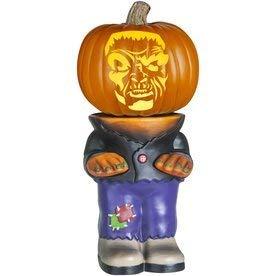 Halloween Pumpkin Stand - Pumpkin Stand Body for Turning Your Halloween Pumpkin into a Character - 10.5