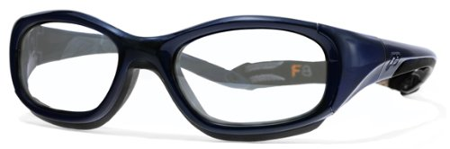 Liberty Sport Slam XL - Navy Blue/Dark Grey / Clear with Silver Flash Mirror - Sunglasses Sports Liberty