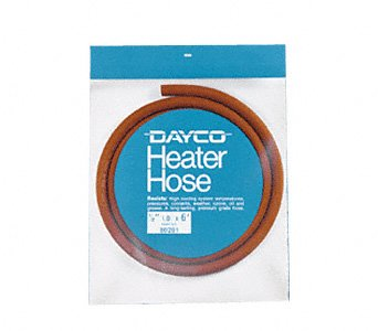 Dayco 80292 Heater Hose 5/8''X6'' Dayco Automotive