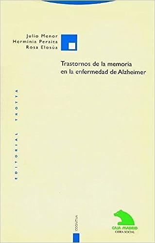 Book Trastornos de La Memoria En La Enfermedad de Alzheimer (Filosofia)