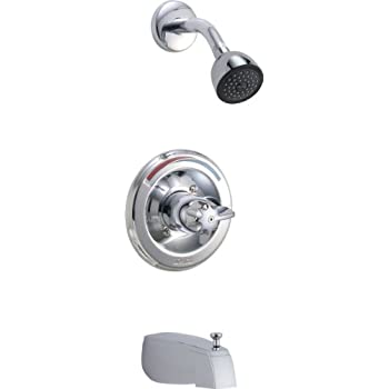 delta faucet t13490 classic monitorr 13 series tub and shower trim rh amazon com