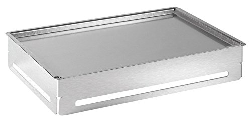 Rosseto SM144 Stainless Steel Rectangular Cooler 3-Piece Buffet Set with Tray and Insert by Rosseto