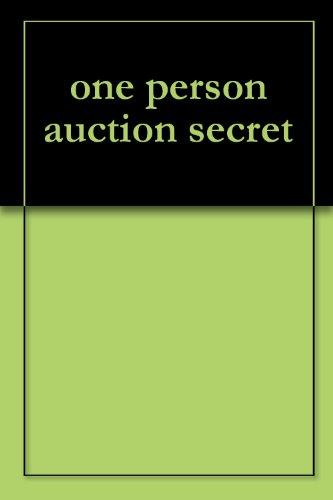 one person auction secret