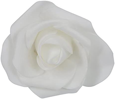 TOOGOO(R) 100PCS Foam Rose Flower Bud Wedding Party Decorations Artificial  Flower Diy Craft White  Amazon.co.uk  Kitchen   Home 0552774885