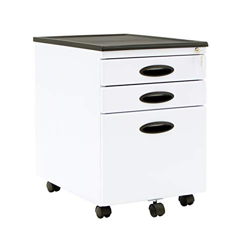Studio Designs 51103 Calico File Cabinet, White