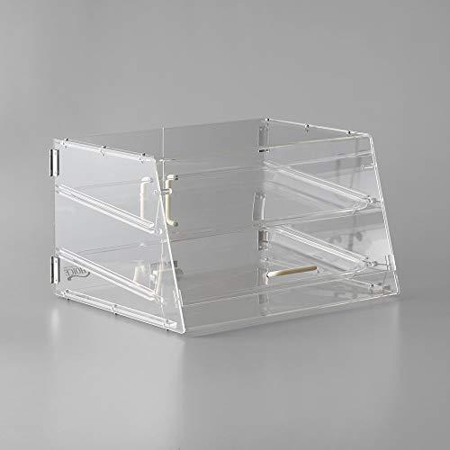 [해외]TableTop King 2 Tray Bakery Display Case with Front and Rear Doors - 21 x 17 x 12 / TableTop King 2 Tray Bakery Display Case with Front and Rear Doors - 21 x 17 x 12