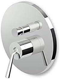 Zucchetti Isystick para ducha mural con desviador ZP1096-Cromo