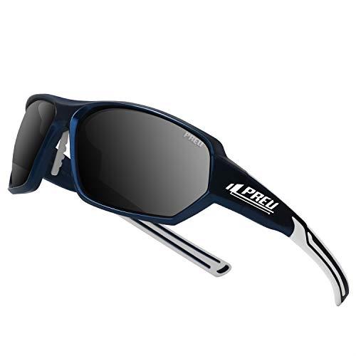 PREU Polarized Sports Sunglasses for Men/Women,UV400 Protection,Baseball Golf Driving Fishing Cycling Sunglasses(S150304) (Best Sunglasses For Fishing 2019)