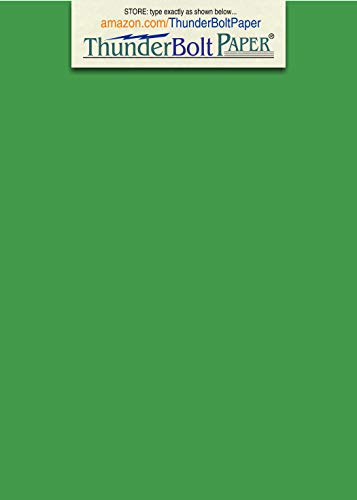 150 Bright Green 65lb Cover|Card Paper - 5