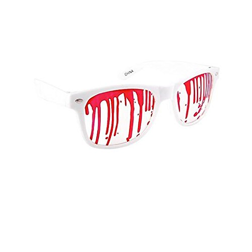 Party Stained Halloween Blood Drip Sunglasses (Disfraces Halloween Online Adulto)