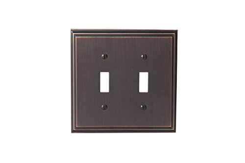 Amerock BP36515ORB Mulholland 2 Toggle Wall Plate - Oil-Rubbed Bronze by Amerock