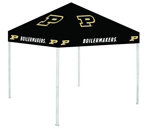 Rivalry NCAA Purdue Boilermakers 9' x 9' Canopy, Large, White