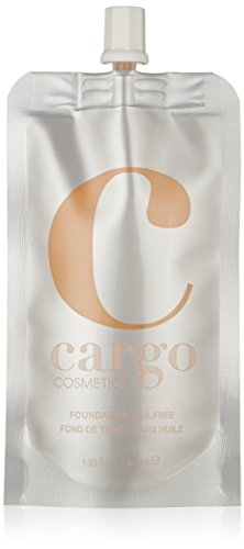 Cargo Cosmetics - Oil-free Longwear Foundation, Medium to Full Natural Coverage Liquid Foundation, F-40