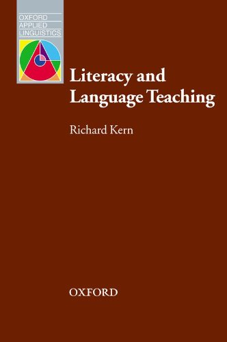 Literacy and Language Teaching (Oxford Applied Linguistics) (Inglés) Tapa blanda – 14 sep 2000 Richard Kern S.A. 0194421627 Language arts