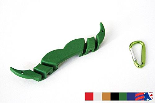 The MoGuard - Mustache Guard Drink Attachment (Green)