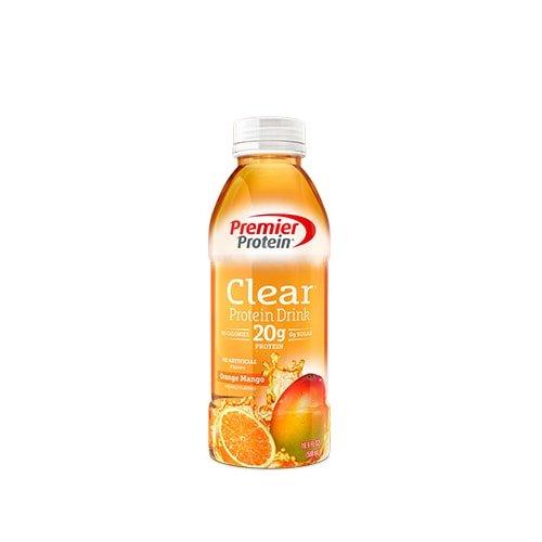Orange Juice Protein Shake - Premier Protein Pack, Orange Mango, 4 Count