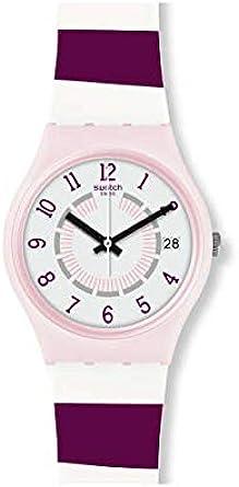 Swatch Reloj Analógico para Unisex Adultos de Cuarzo con Correa en Silicona GP402
