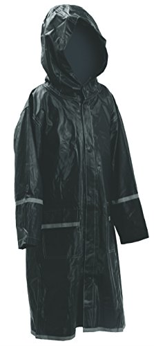 Kids Water Proof Rain Coat with Reflector – Juniors Premium Rain Jacket