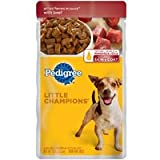 Pedigree Little Champions Grilled Cuts in Sauce With Beef, My Pet Supplies