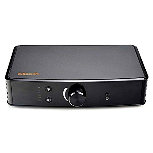 Klipsch PowerGate Amplified PlayFi Wireless Gateway, Black