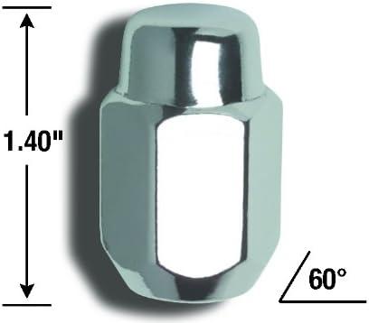 14mm x 1.50 Thread Size Gorilla Automotive 71147B Acorn Lug Nuts