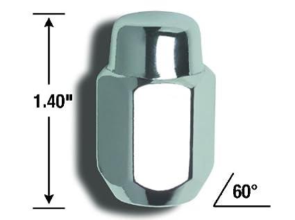 Gorilla Automotive 71117 Acorn Lug Nuts 10mm x 1.25 Thread Size