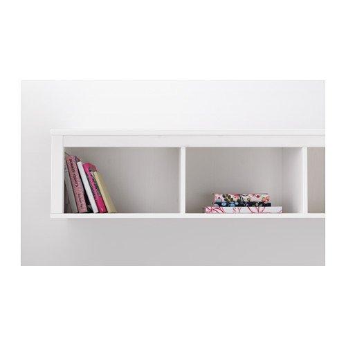 Ikea Wall/bridging shelf, white stain 1426.29238.102